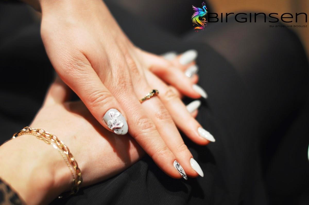 zdobienie paznokci 3D