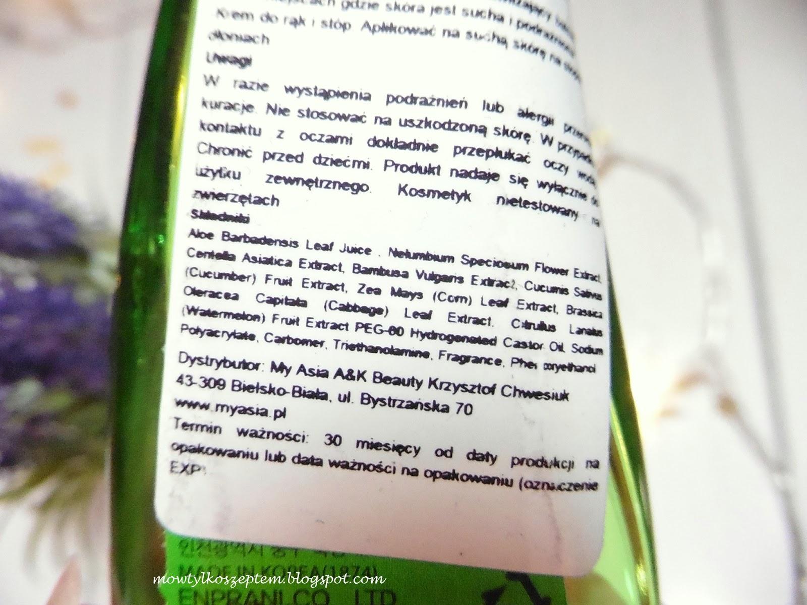 holika-holika-zel-aloesowy, zel-aloesowy-zastosowanie, aloes-w-pielegnacji