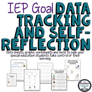 https://www.teacherspayteachers.com/Product/IEP-Goal-Data-Tracking-and-Self-Reflection-Kit-for-Special-Education-2643078?utm_source=Autism%20Vault%20Blog&utm_campaign=IEP%20Goal%20Tracking%20and%20Self%20Reflection