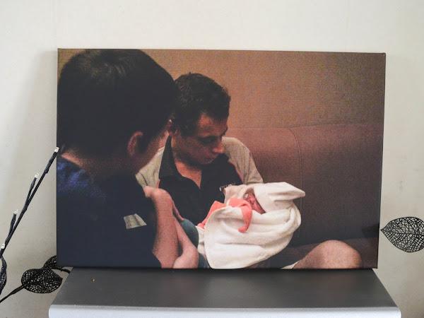 Foto met betekenis op canvas | Review