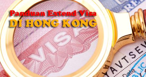 Cara Booking Visa Online atau Extend Visa di Hong Kong