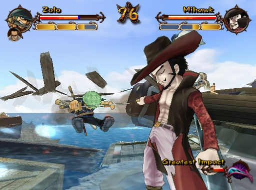 One Piece Adventure Zoro vs Mihawk