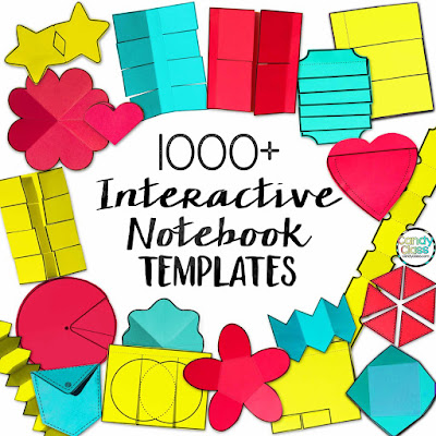 The Interactive Notebook Template Types The Candy Class - Interactive notebook templates