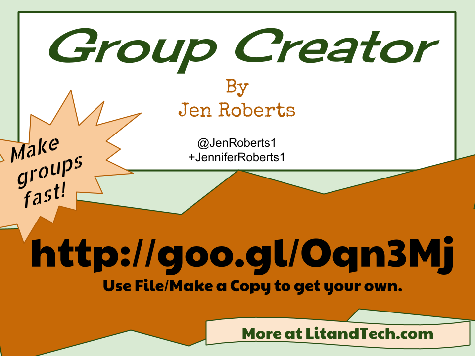 Get the Group Creator (It's Free)