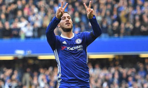 Eden Hazard Chelsea Vs Huddersfield