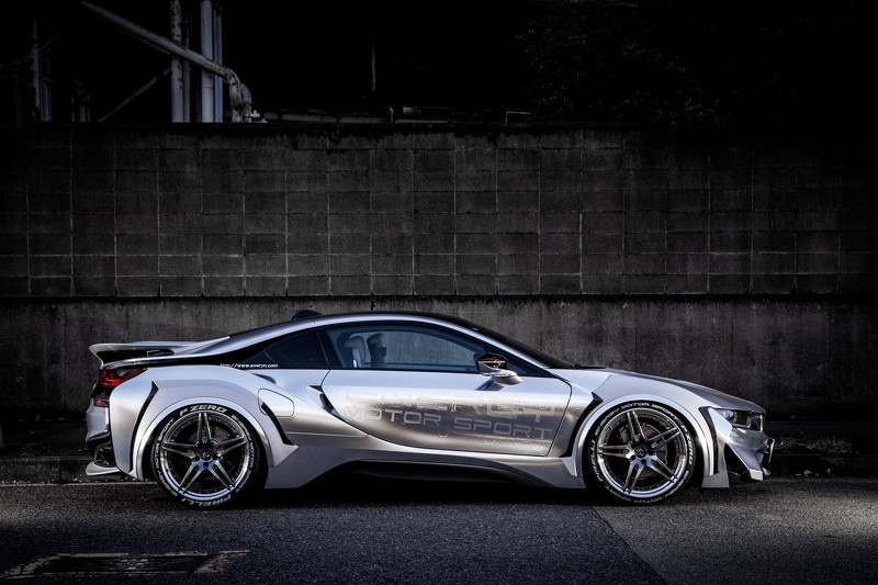Energy Motor Sport Turn Bmw I8 Into Spaceship With Evo Kit