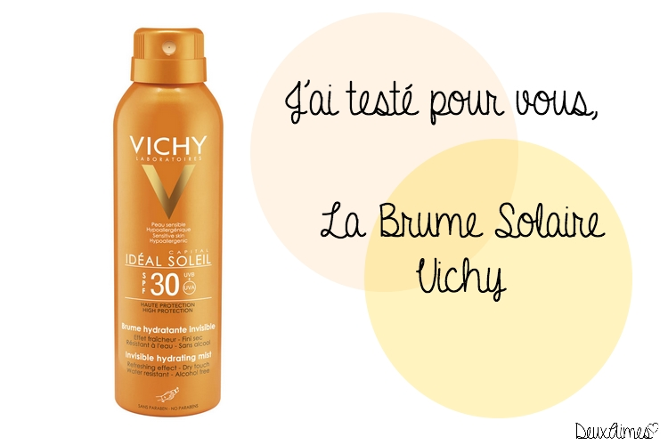 vichy brume solaire test