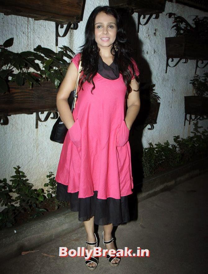 Suchitra Krishnamoorthy, Sonali Cable Screening Photos