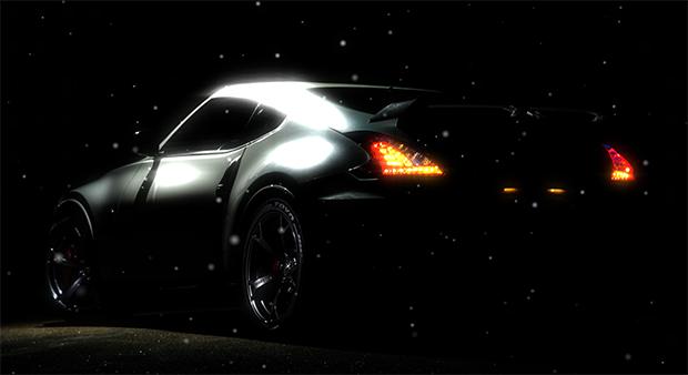 Nissan 350z Audio Responsive Wallpaper Engine
