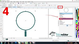 Cara Membuat effect kaca pembesar dengan Coreldraw