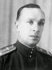 Un ritratto del pilota collaudatore Sergej Anokhin.