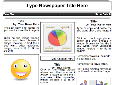 2 Beautiful Templates to Create Classroom Newspapers using Google Docs