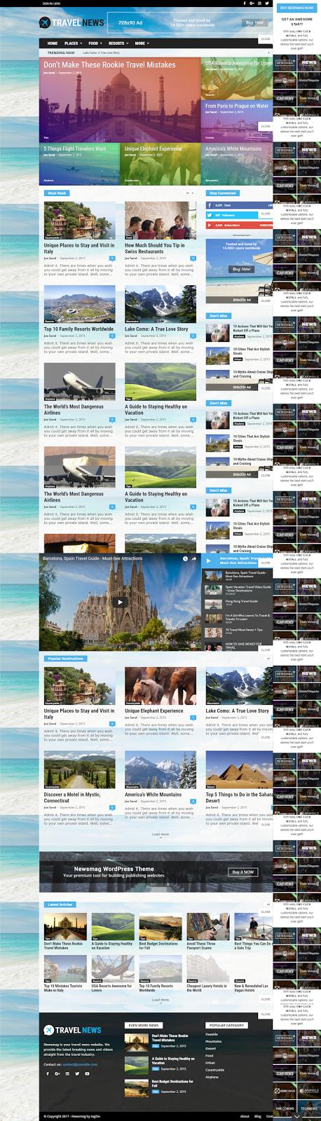 Travel News Magazine