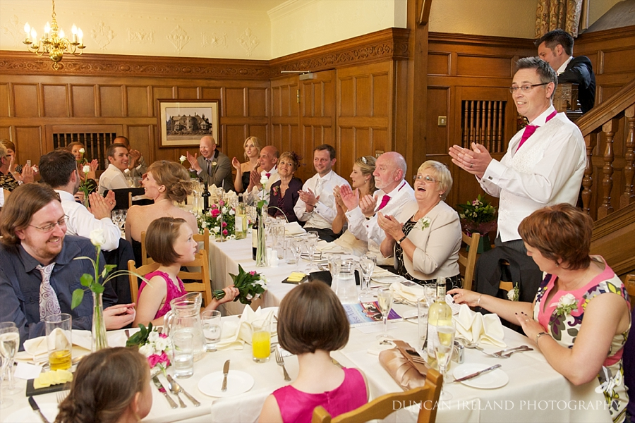 Speeches Main Hall Cragwood CountryHouse Hotel