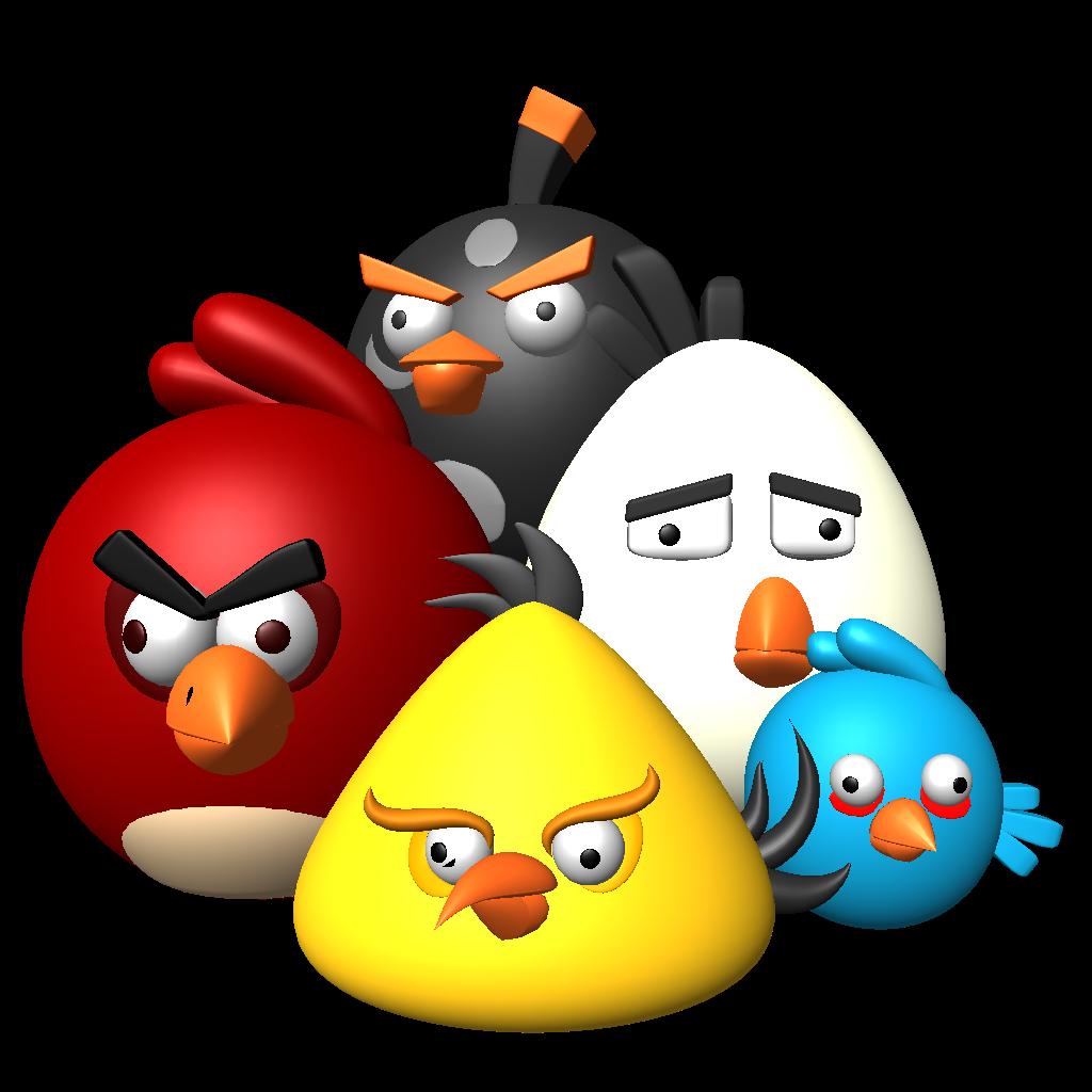تحميل لعبة الطيور الغاضبة Angry Birds  للكمبيوتر والموبايل برابط مباشر Trial