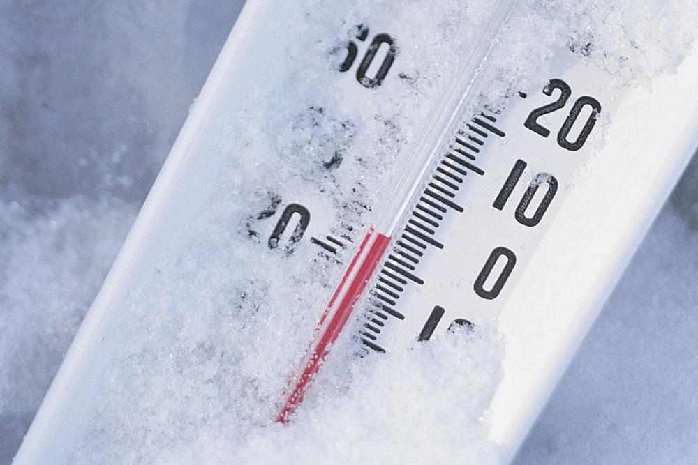 How Are The Temperatures Below Zero Degrees Celsius Measured