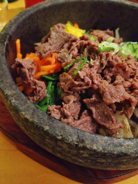 Korean Food at Bibimbap