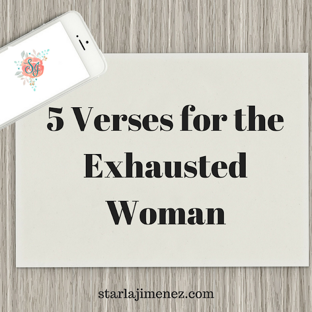 Inspiration and help for the tired and weary woman.