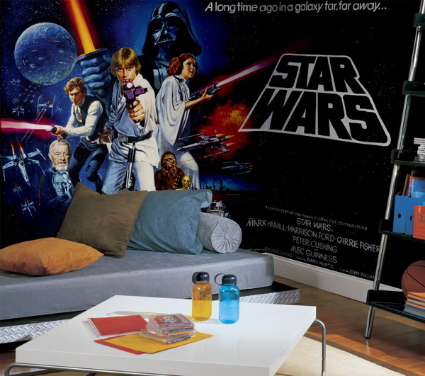Star Wars Wall Mural Photo Wallpaper