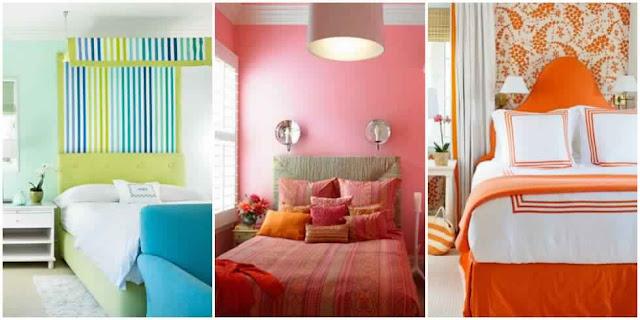 اختيار لون غرف النوم