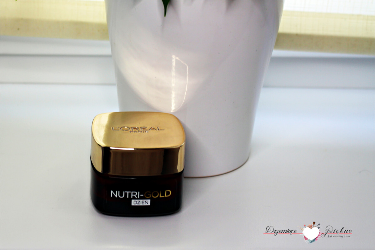 9. L'ORÉAL PARIS Nutri-Gold odżywczy krem pod oczy