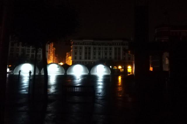 Herriko Plaza sin luces