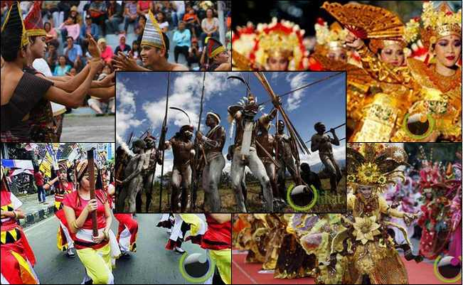 7 Seni Festival Asli dari Negara Indonesia