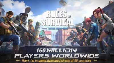 Senjata Terbaik di Game Rules of Survival
