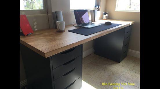 Bàn Gaming IKEA Countertop
