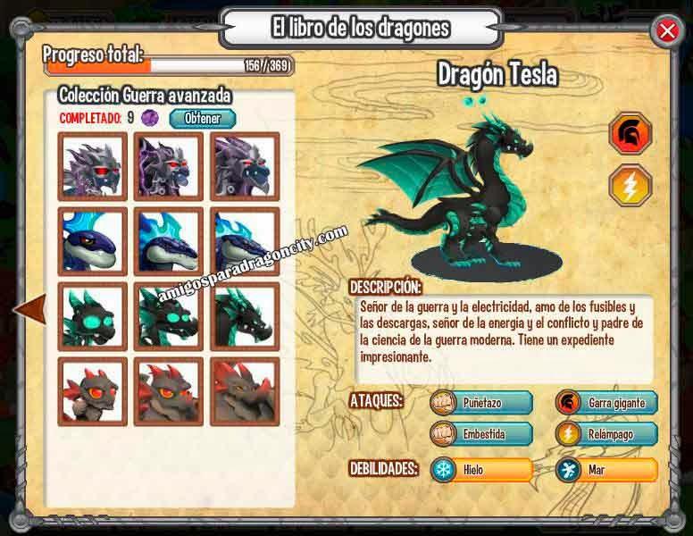 imagen del libro de dragones de dragon city