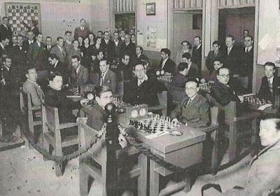 Campeonato de Cataluña por equipos de 1932, sala de juego