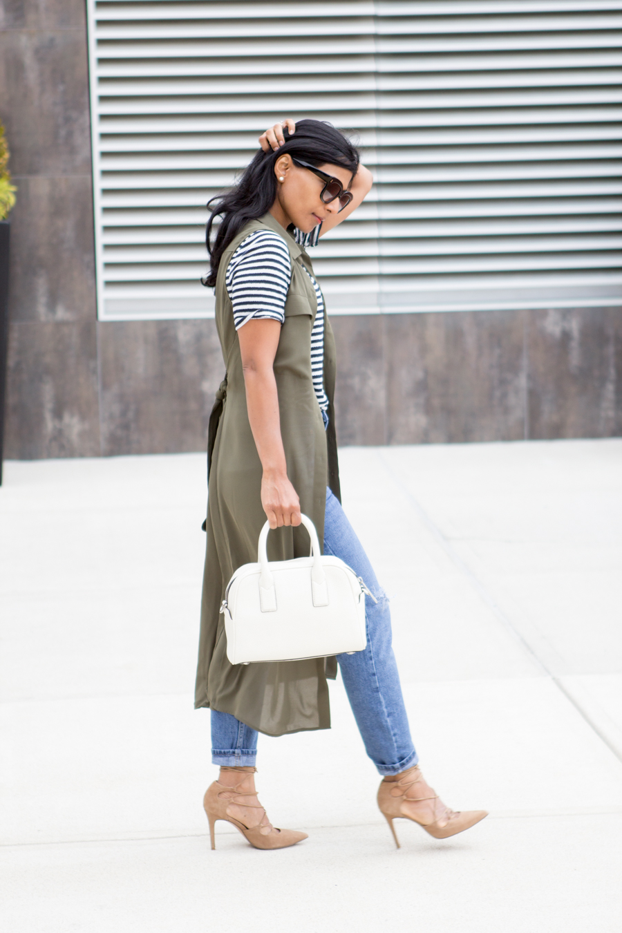 Styling Tricks: How to Style a Dress as a Vest