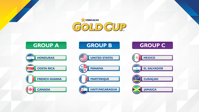 Gold Cup 2017 Groups