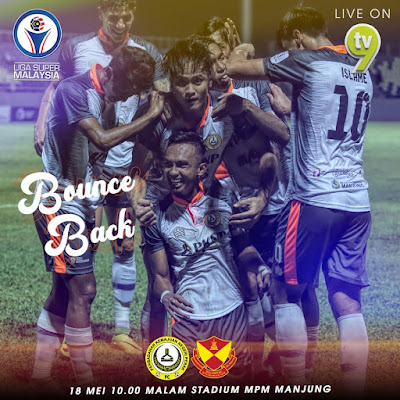 Live Streaming Pknp FC vs Selangor Liga Super 18.5.2019