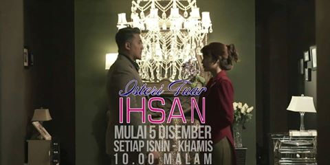 Drama Isteri Tuah Ihsan ,Lakonan Aron Aziz, Amyra Rosli