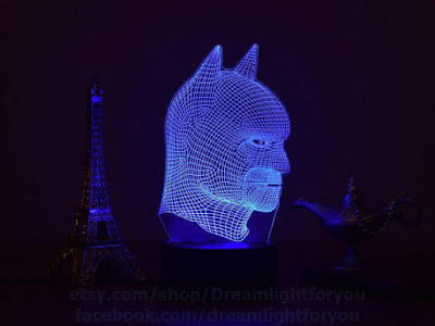 Batman 3D Night Lamp