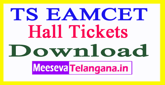 TS EAMCET Hall Tickets 2018 Download Engineering Agricultural Test
