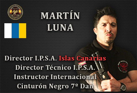 DEGELADO OFICIAL IPSA MARTIN LUNA DIRECTOR IPSA ISLAS CANARIAS INTERNATIONAL POLICE AND SECURITY ASSOCIATION