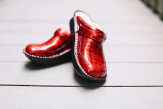 Alegria Shoes Seville Cherry Cube