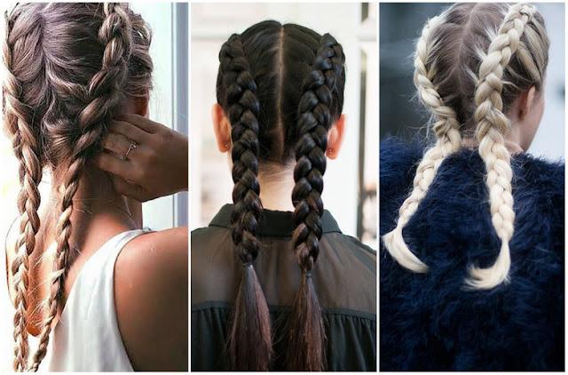 warkocze, fryzura, włosy 2017, stylizacja włosów
