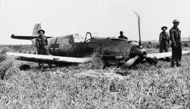 13 August 1940 worldwartwo.filminspector.com Bf 109E-1