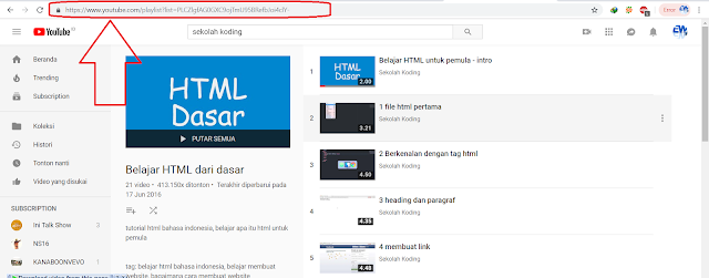 Cara Download Video Youtube Batch Playlist Banyak Sekaligus