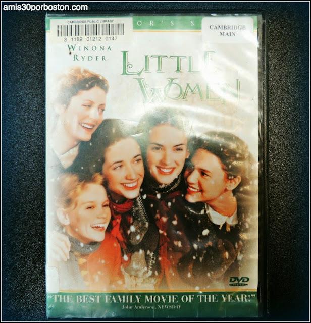 Este es un DVD de la Biblioteca Pública de Cambridge
