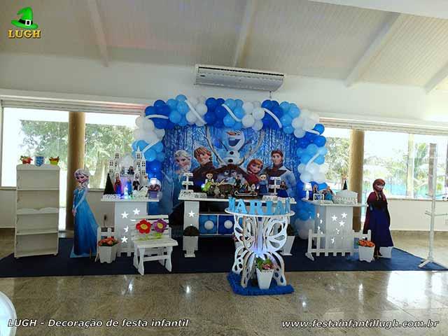 Decoração infantil Frozen - Uma Aventura Congelante - Frozen - Febre Congelante - Aniversário da Anna