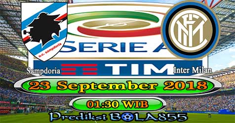 Prediksi Bola855 Sampdoria vs Inter Milan 23 September 2018