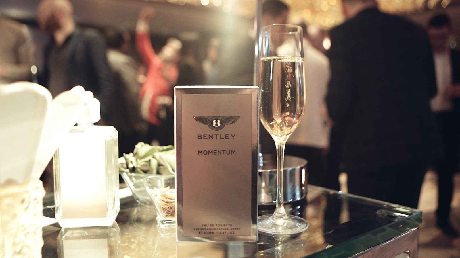 Bentley launch new mens fragrance