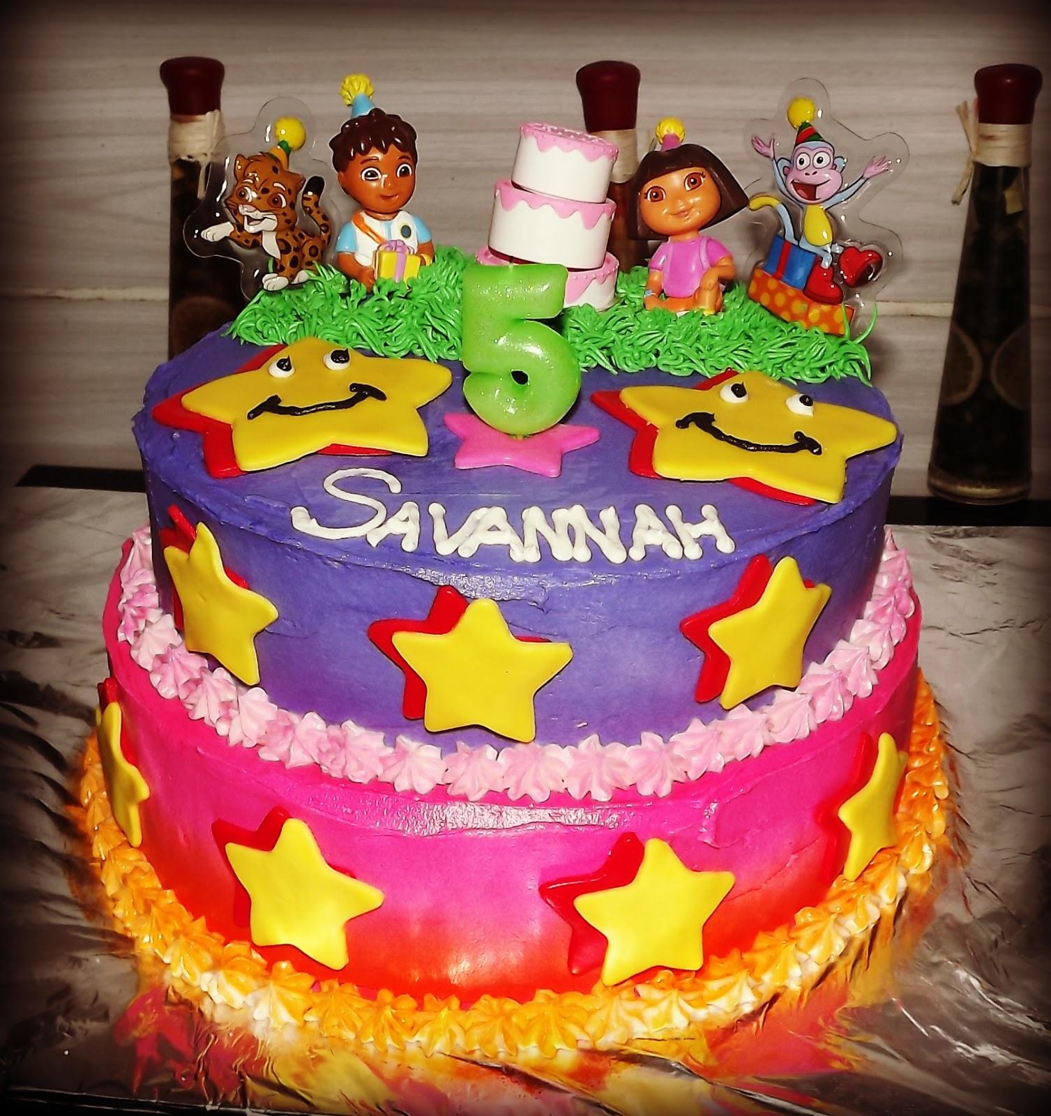 Mandy S Cakes Dora And Diego Birthday Cake