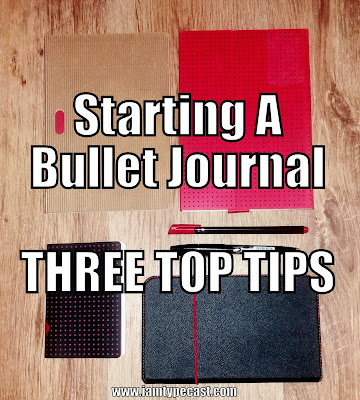 Starting A Bullet Journal - 3 Top Tips - the bullet journal starter kit