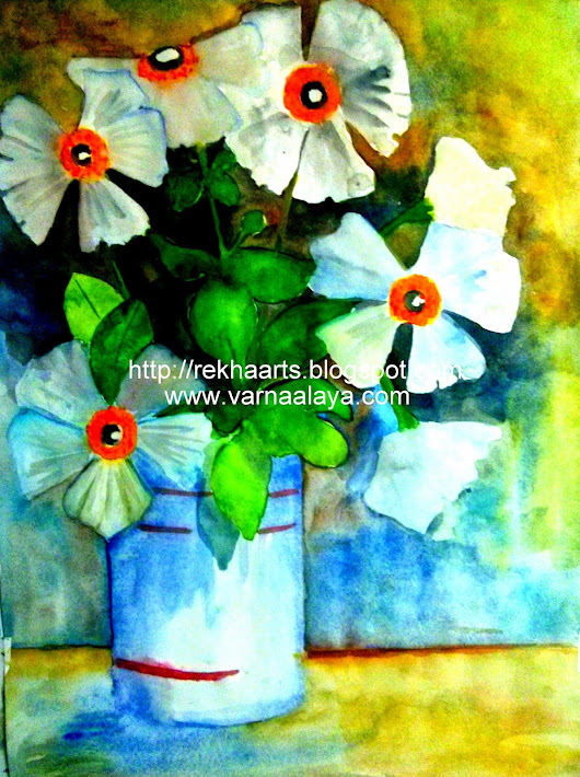 Water Colours - Still Life