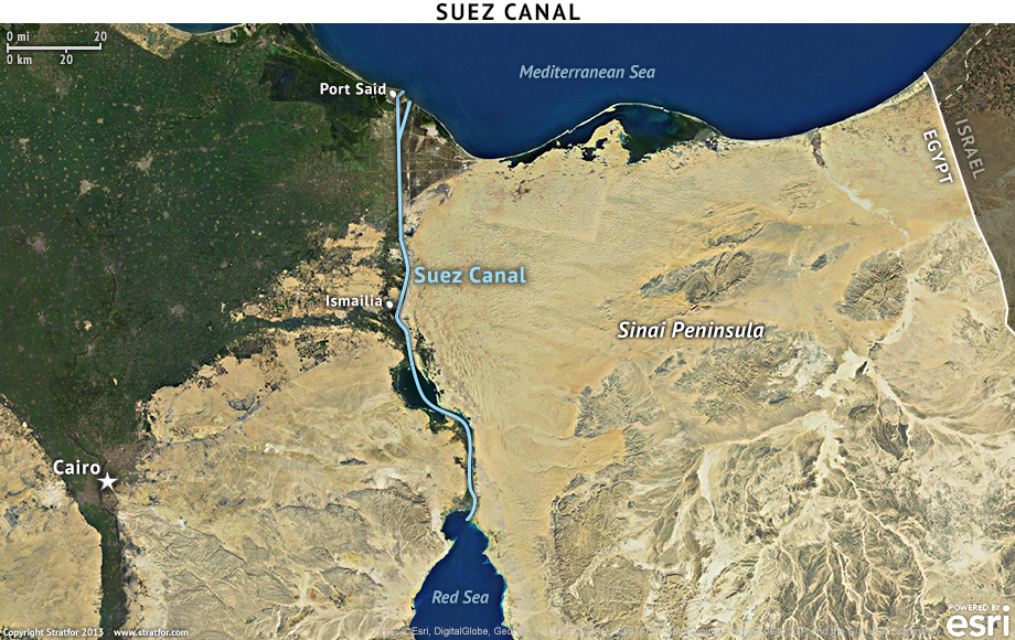 The Challenge Of Blocking The Suez Canal